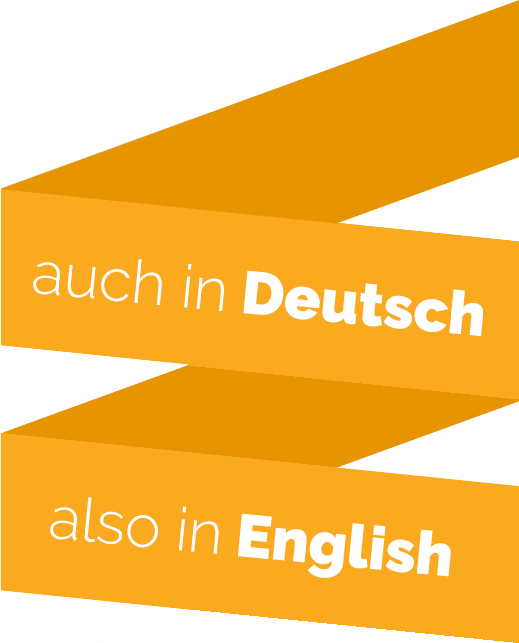 auch in Deutsch, also in English
